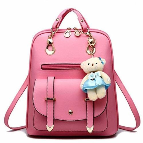 New pink teddy backpack Backpack
