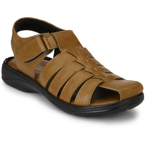 Knoos Men Tan Sandals