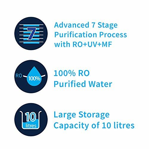 HUL Pureit Ultima Mineral RO+UV+MF 7 Stage 10L Water Purifier