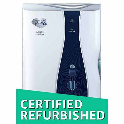(CERTIFIED REFURBISHED) HUL Pureit Classic G2 Mineral 6-Liter RO+UV Water Purifier (White)