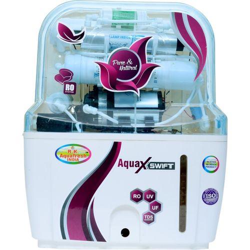 Rk Aquafresh India ZX14STAGE 12 L RO + UV + UF Water Purifier(White)