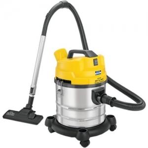 Kent KSL-612 Wet & Dry Cleaner(Yellow, Silver)