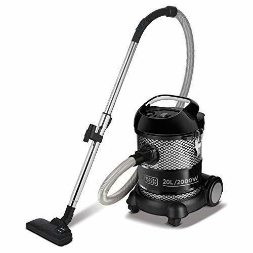 Black & Decker Black&Decker BV2000 Watt Drum Vacuum Cleaner (Black)