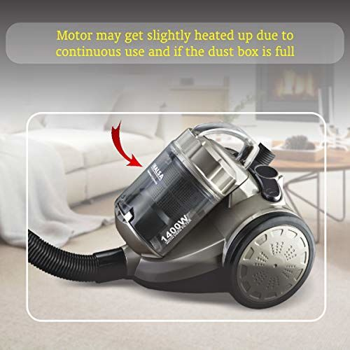 Inalsa Supremo Cyclonic Vacuum Cleaner (Rose Gold)