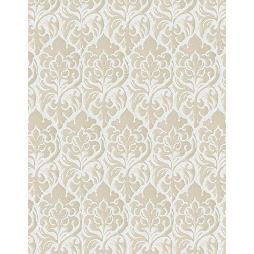DDECOR Live beautiful D'Decor 1 Piece Polyester Eyelet Door Curtain - 7 Feet, White