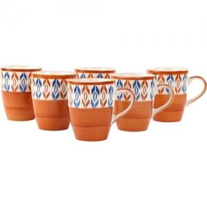 KITTENS MMBr_Rd_Buty_6 Ceramic Mug(300 ml, Pack of 6)