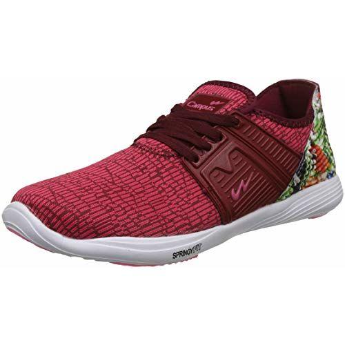 Campus Women's Pink Running Shoes-4 UK/India (37 EU) (Bella)