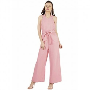 FabAlley Synthetic Jumpsuit (DRS02514_Pink_Medium)