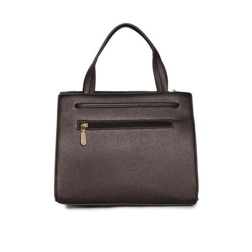 Addons Brown Embellished Handheld Bag
