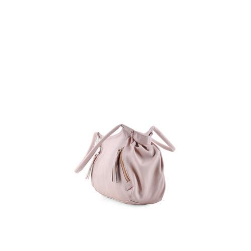 Butterflies Peach-Coloured Handbag