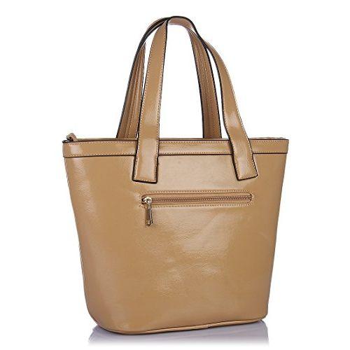 Addons Oxford Large Women's Tote Bag (Beige)