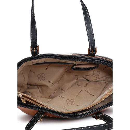 Addons Tan Solid Shoulder Bag