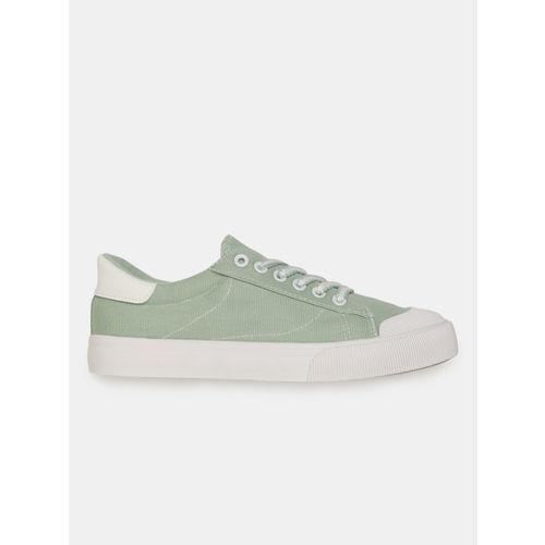 Mast & Harbour Women Green Sneakers