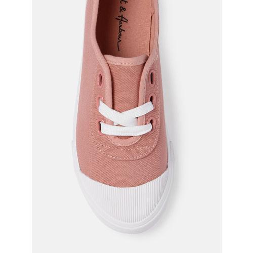 Mast & Harbour Women Pink Sneakers