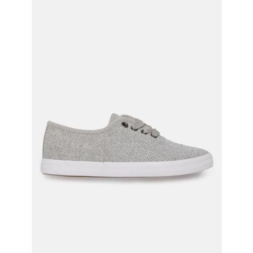 Mast & Harbour Women Grey Sneakers