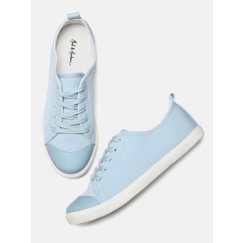 Mast & Harbour Women Blue Sneakers