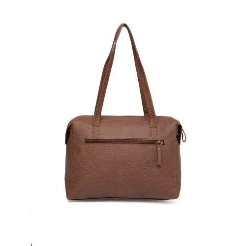 Baggit Tan-Brown Solid Shoulder Bag