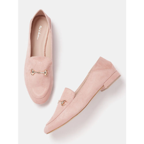 Mast & Harbour Women Pink Loafers