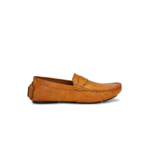 John Karsun Men Tan Brown Loafers