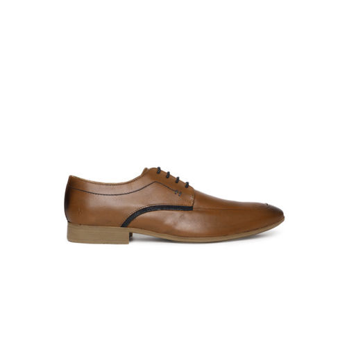 Arrow Tan Brown Derby Leather Formal Derbys