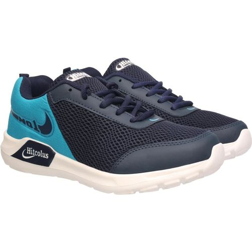 HITCOLUS Men's Sports Shoes (HTL-060-NAVY-BLU-GRY) 8 UK