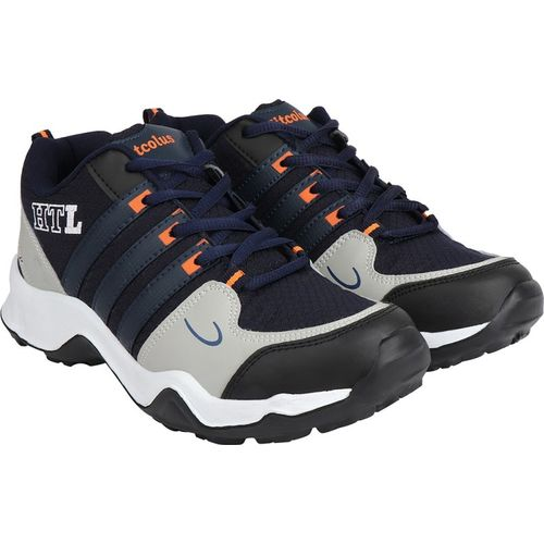 Hitcolus Shoes Training Shoes,Walking Shoes,Gym Shoes,Sports Shoes Running Shoes For Men(Blue, Orange)
