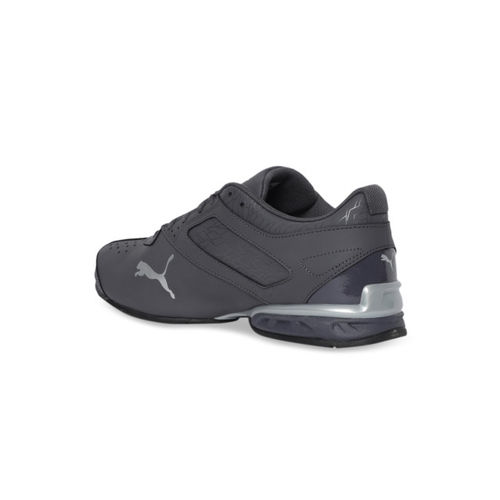 Puma Men Grey Synthetic Mid-Top Running Shoes 18987502
