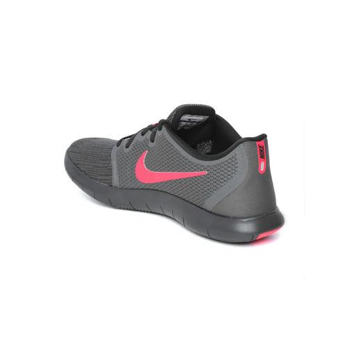 Nike Men Charcoal Grey Flex Contact 2 Running Shoes