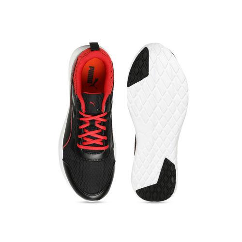 Puma Black Dune-dust Running Shoes