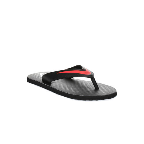 Nike Men Black Chroma Thong 5 Flip-Flops