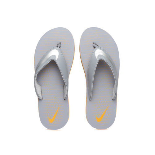 Nike Men Grey Chroma Thong 5 Printed Flip-Flops