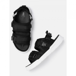 HRX by Hrithik Roshan Men Black Sports Sandals