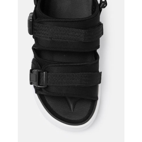 HRX by Hrithik Roshan Men Black Sports Sandals