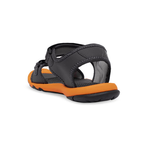 ASIAN Men Grey Sports Sandals