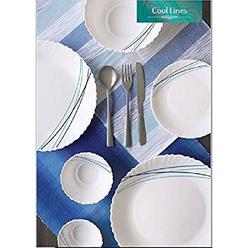 Cello Cool Lines Dinner Set of 23 Pcs