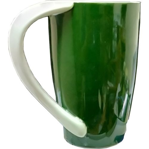 Treo Venessa 350 ml Green Coffee Ceramic Mug(350 ml)