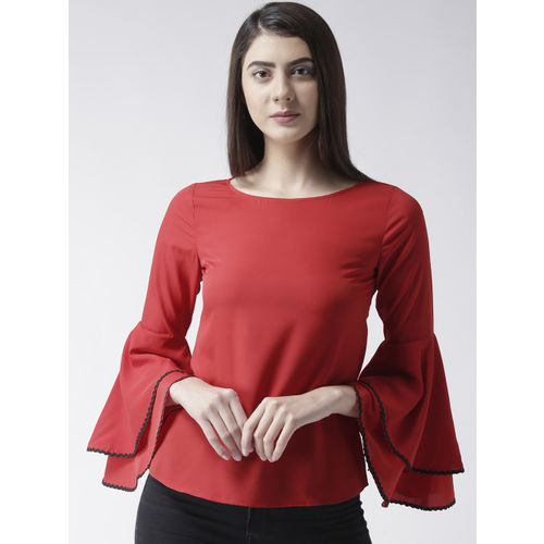 MsFQ Women Red Solid Top