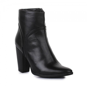 Bruno Manetti Women(BT-001) Black Synthetic Leather Boots-40