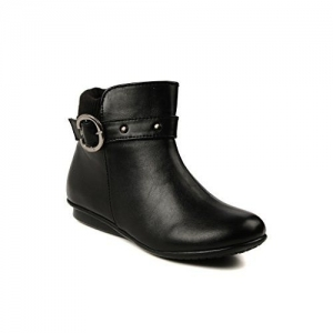 Bruno Manetti Women's Black Faux Leather Boots
