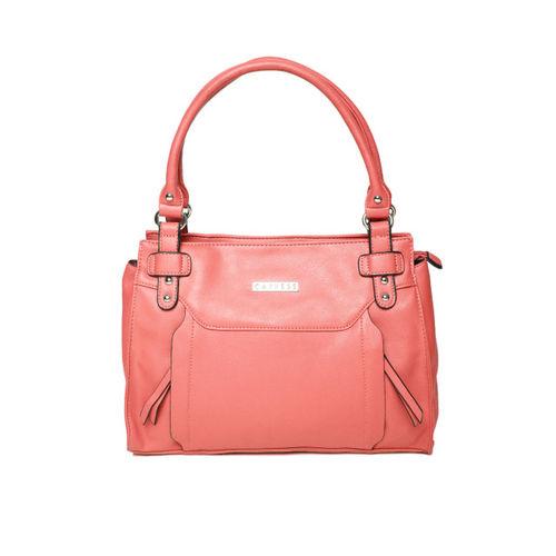 Caprese Pink Solid Shoulder Bag
