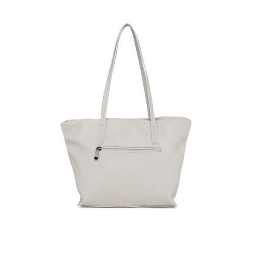 Caprese Grey Solid Shoulder Bag