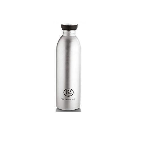 Nayasa Superplast 12 Hours All Day Stainless Steel Water Bottle, 500 ml, Silver