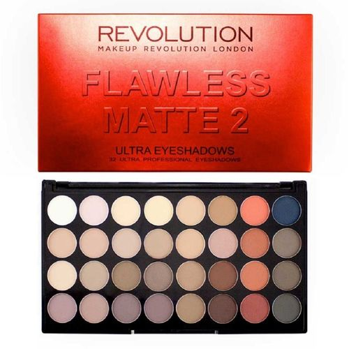 Makeup Revolution Ultra 32 Eyeshadow Palette Flawless Matte 2 16 g(MATTE 2)
