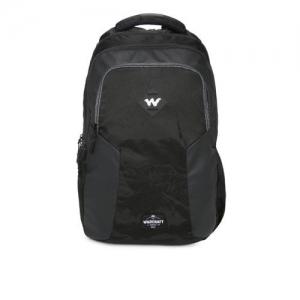 Wildcraft Unisex Black Solid Dapper 2.0 Backpack