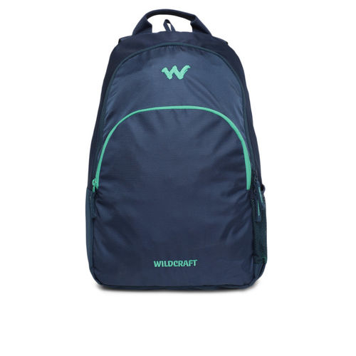 Wildcraft Blue Compact Polyester Unisex Backpack