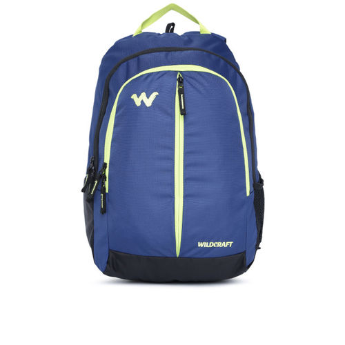 Wildcraft Unisex Blue Solid Backpack