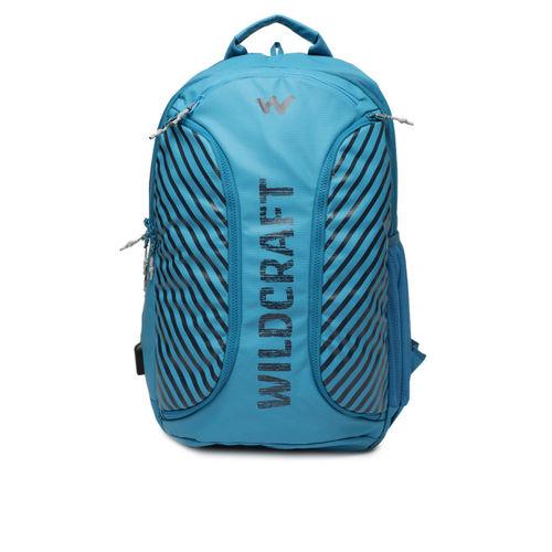 Wildcraft Blue Printed Toro Backpack