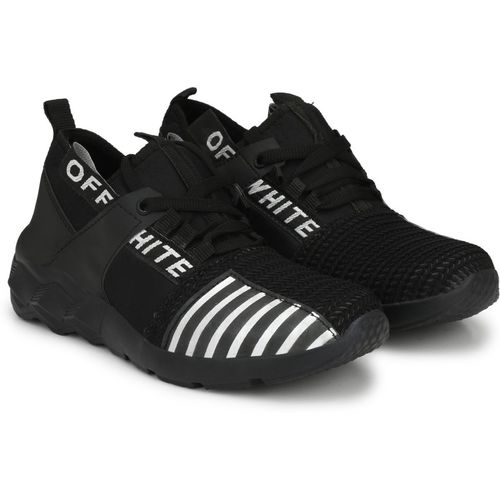 Magnolia Black Casuals Sneakers/Unique Shoes for Mens