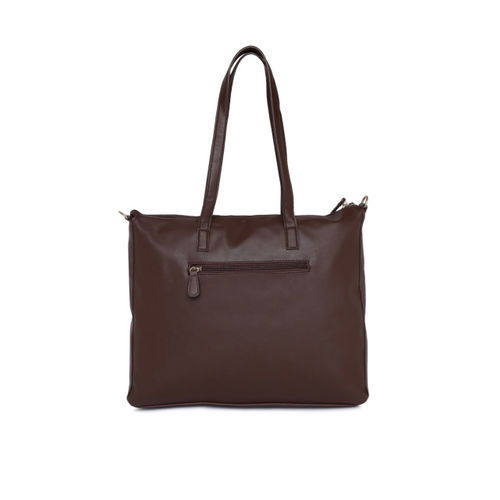 Lavie Brown Textured Shoulder Bag