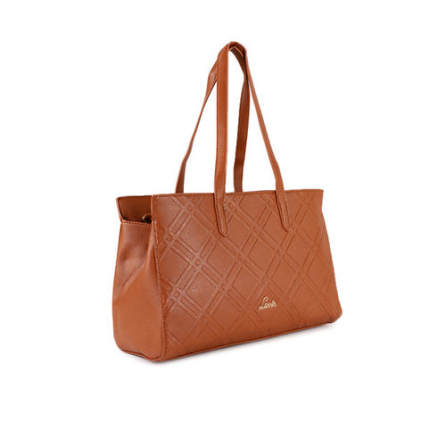 Lavie Tan Textured Shoulder Bag